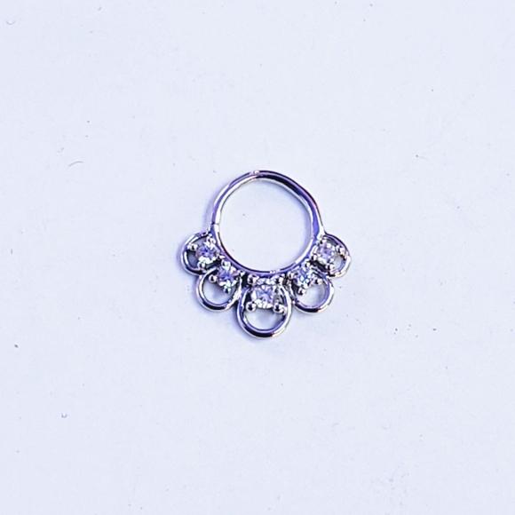 Jewelry 18g Tragus Helix Cartilage Septum Piercing Hoop Poshmark